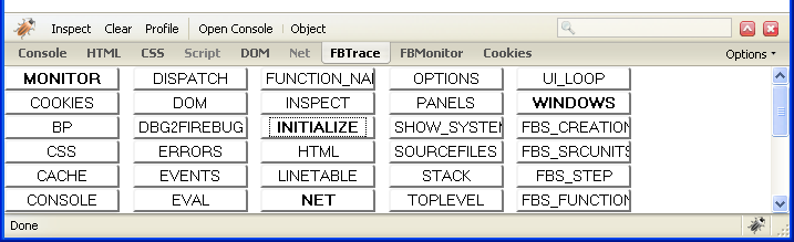 FBTrace Console | Software is hard