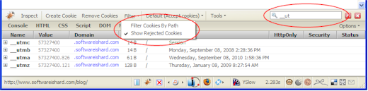 How to filter cookie list